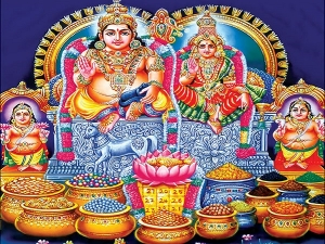 Lakshmi Kubera Pooja Diwali