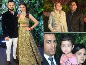 Celebrities At Virushka S Mumbai Reception Party