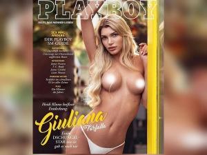 Giuliana World S First Transgender Model On The Playboy Magazine Cover