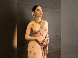 Man Threw Shoe At Tamannaah Bhatia While She Was Elegantly Decked Up In Sari