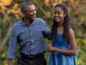 Malia Obama With Her Uk Boyfriend