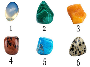 Pick Any One Stone Discover What It Reveals About You