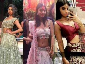 Suhana Khan S Stunning Desi Avatars A Family Wedding