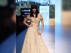 Kalki Koechlin At The Lakme Fashion Week 2018