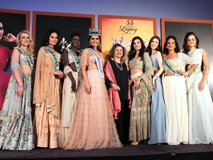 Manushi Chillar Made A Graceful Presence At The Fbb Femina Miss India 2018 Auditions