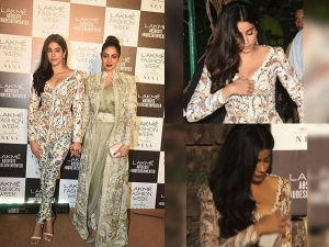 Jhanvi Kapoor Faced An Oops Moment At The Lakme Fashion Week