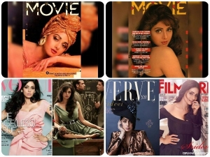 All Time Best Magazine Coverages Of The Reel Empress Sridevi
