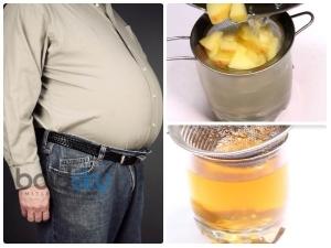 Homemade Lemon Ginger Flat Belly Drink
