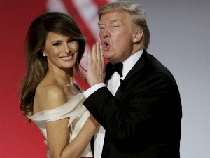 The Love Story Donald Melania Trumph