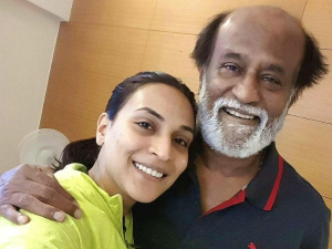 As Father Grand Father Daughter Aiwarya Dhanush Reveals The Unknown Side Of Superstar Rajinikanth
