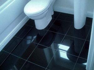 How To Make Black Floor Tiles Appear Shiny