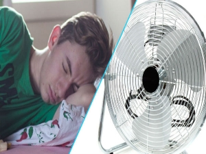 Why Sleeping With A Fan On Could Be Bad For Your Health