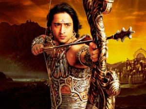 War Between Krishna Arjuna