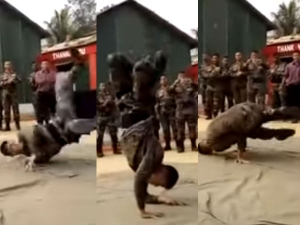 Indian Army Soldier Dancing Video Gone Viral