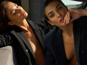 Again Amy Jackson Posted Bare Chest Photo Her Instagram Feed