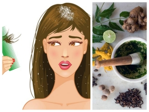 Ayurvedic Cures For Dandruff
