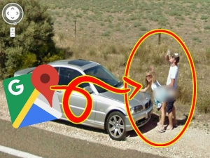 Funny Photos Caught On Google Map Street View