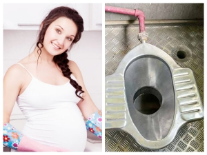 Using Indian Style Squat Toilet During Pregnancy