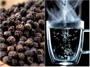 Health Benefits Of Drinking Black Pepper With Hot Water In Empty Stomach