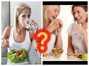 Can We Drink Water While Eating
