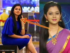 Different Looks News Anchor Anitha Sampath