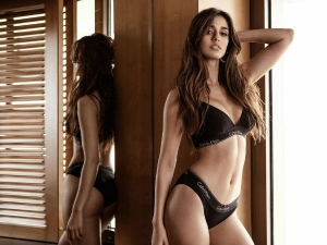 Is Disha Patani Addicted To Show Off Her Curves More In Calvinklein