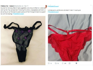 Why Irish Women Shares Their Under Wear Photos Twitter