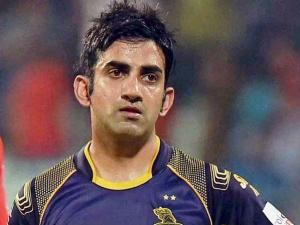 Fact Biography Indian Cricketer Gautam Gambhir