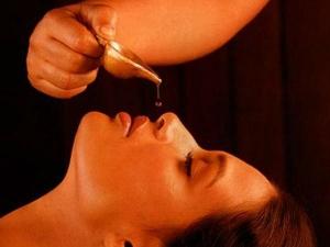 Panjakarma Nasya Treating Coma