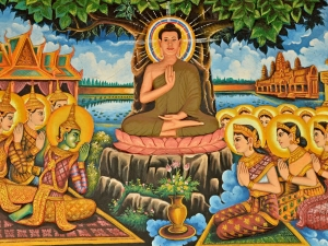 Story About Lord Buddha And The Little Girl