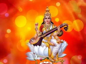 Auspicious Offerings To Devi Saraswati