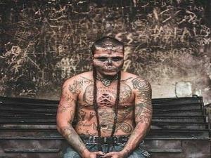 Man Undergoes Several Surgeries To Attain Skull Face