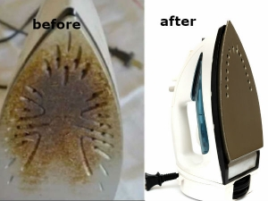 How To Clean The Bottom Of A Steam Iron