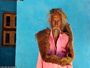 Meet The Indian Baba Who Has Not Washed His Hair For 40 Year