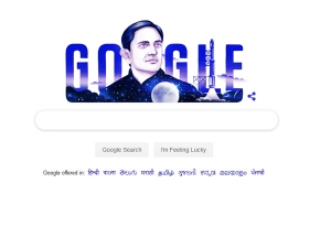 Google Observes Vikram Sarabhai 100th Birthday With Doodle