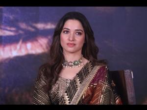Tamana Bhatia S Elaborate Anarkali Look