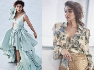 Nayanthara Stunning Photoshoot For Vogue India October 2019
