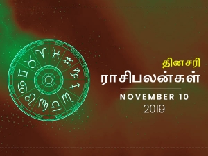 Daily Horoscope For 10th November 2019 Sunday