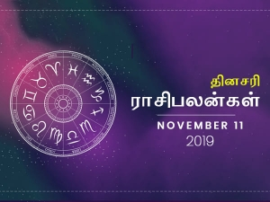 Daily Horoscope For 11th November 2019 Monday