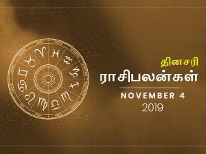 Daily Horoscope For 4th November 2019 Monday
