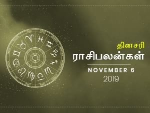 Daily Horoscope For 6th November 2019 Wednesday