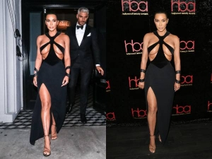 Hollywood Beauty Awards 2019 Kim Kardashian Shocked Everyone With Outrageous Dress