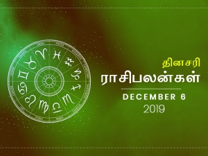 Daily Horoscope For 6th December 2019 Friday
