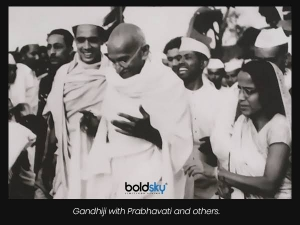 What Gandhi Wants Woman To Do If Someone Tries To Molest Her