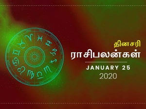 Daily Horoscope For 25th January 2020 Saturday In Tamil