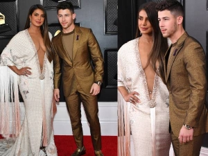 Priyanka Chopra And Nick Jonas Dazzle At The Grammys