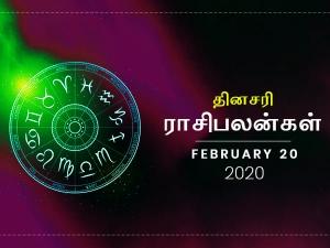 Daily Horoscope For 20th February 2020 Thursday In Tamil