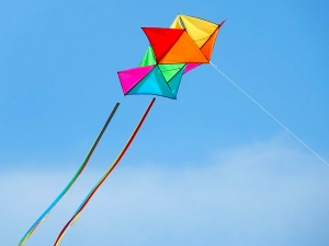 How To Make A Kite With Paper At Home In Tamil