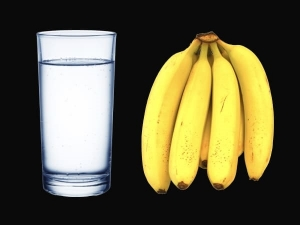 Benefits Of Having A Glass Of Warm Water And Banana In The Morning