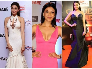 Happy Birthday Kajal Agarwal Best And Hot Looks Of Kajal Agarwal At Red Carpet